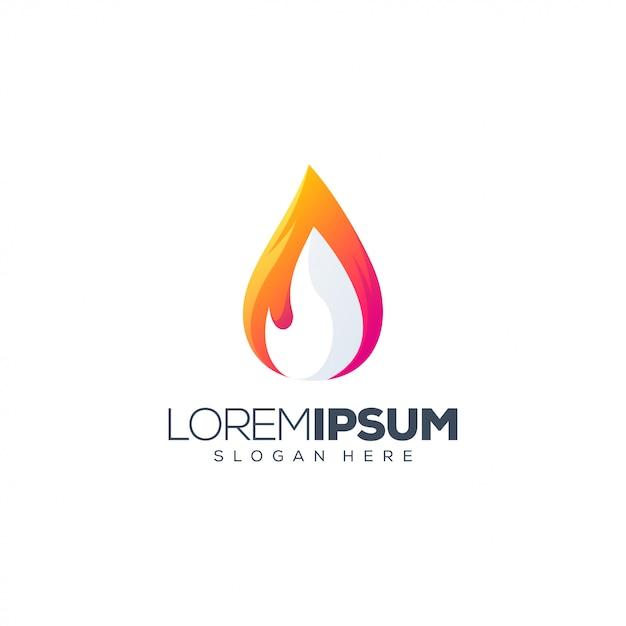 Szablon logo kolorowe ludzie Premium Wektorów