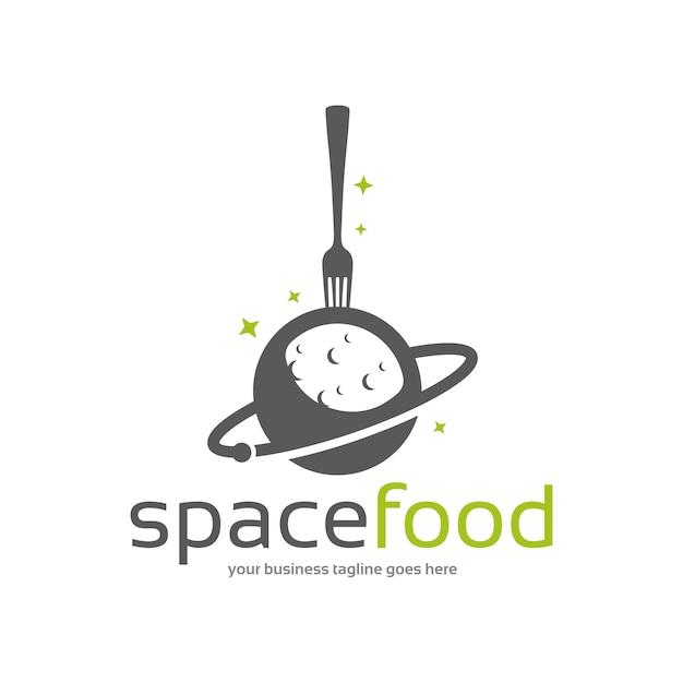 Szablon logo miejsca żywności Premium Wektorów
