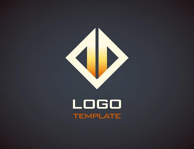 Szablon logo ognia. Premium Wektorów