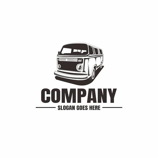 Szablon Logo Pojazdu Premium Wektorów
