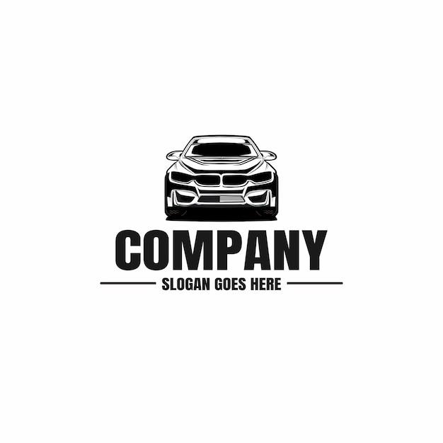 Szablon Logo Samochodu Samochodowego Premium Wektorów