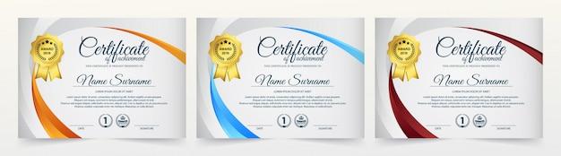 Szablon nagrody kreatywnego uznania Premium Wektorów