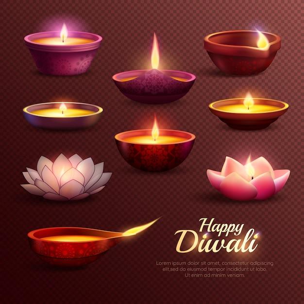 Szablon Obchodów Diwali Darmowych Wektorów