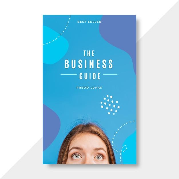 Szablon Okładki Książki Biznesowej Darmowych Wektorów