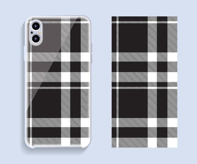 Szablon Okładki Smartphone Szkocka Szkocka Premium Wektorów