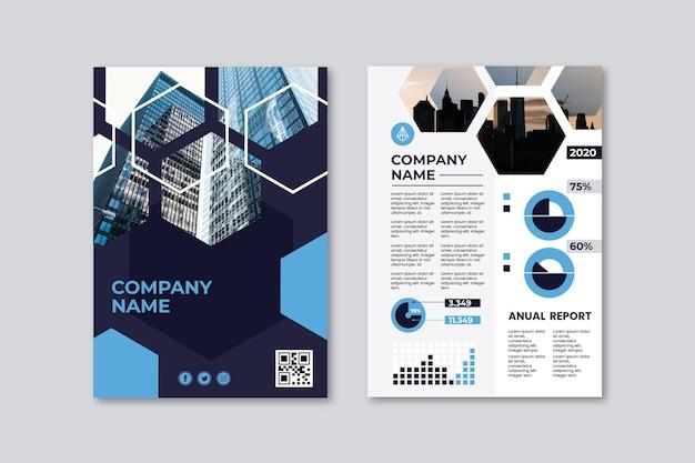 Szablon Plakatu Prezentacji Biznesowych Darmowych Wektorów