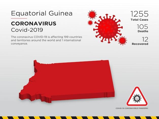 Szablon Projektu Choroby Koronawirusa Dotkniętego Chorobą Premium Wektorów