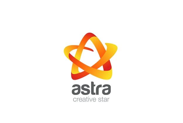 Szablon Projektu Logo Gwiazda. Darmowych Wektorów