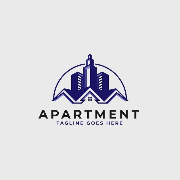 Szablon Projektu Logo Nieruchomości - Logo Budynku Konstrukcji I Architektury Premium Wektorów