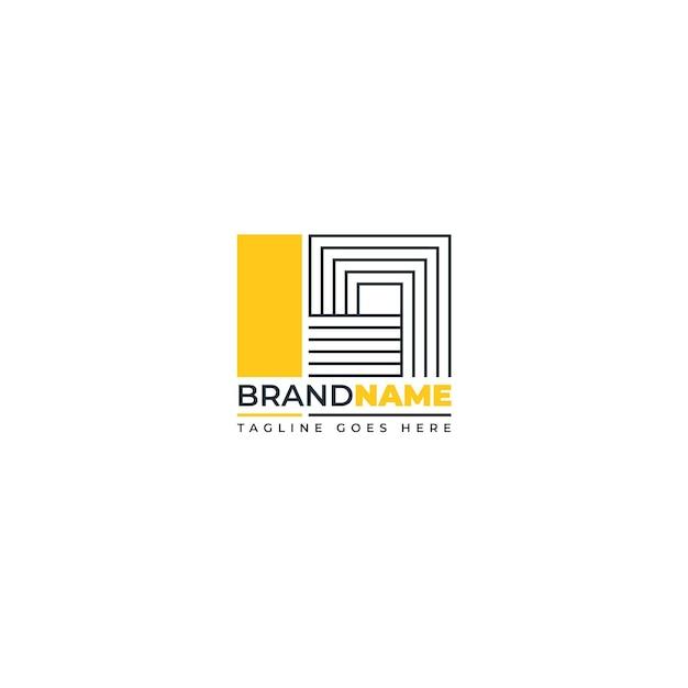 Szablon Redakcyjny Logo Streszczenie Darmowych Wektorów