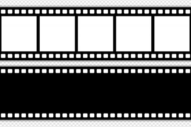 Szablon taśmy filmowej Premium Wektorów