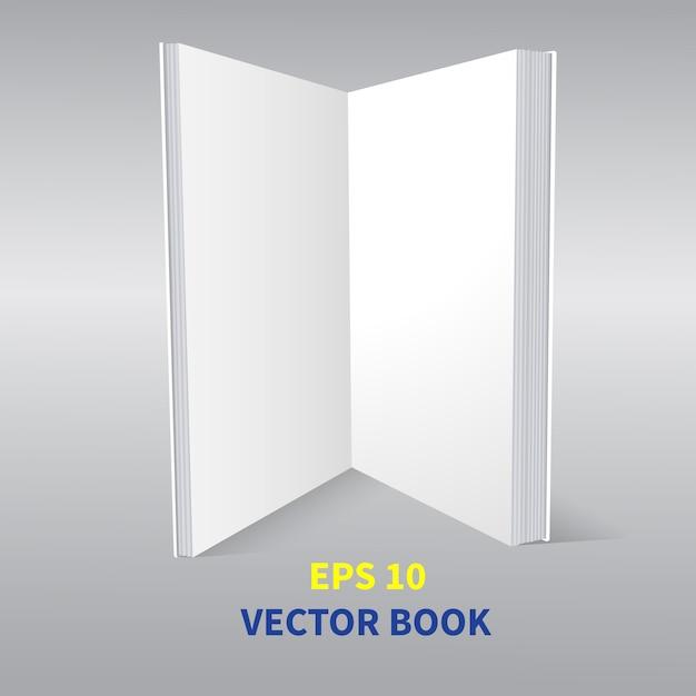 Szablon To Otwarta Książka Premium Wektorów