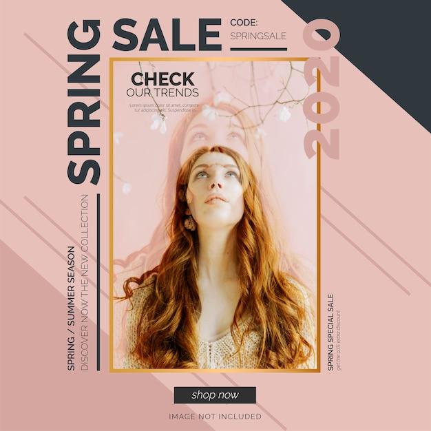 Szablon Transparent Elegancki Sprzedaż Wiosna Darmowych Wektorów