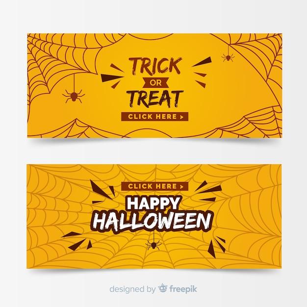 Szablon transparent halloween płaski kształt Darmowych Wektorów