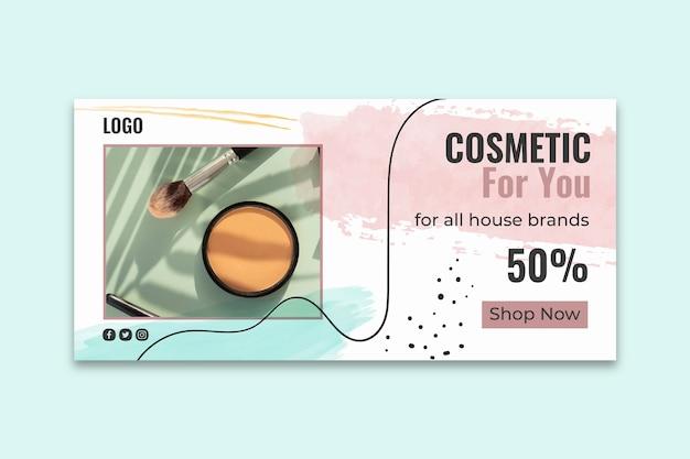Szablon Transparent Kosmetyczny Instagram Darmowych Wektorów