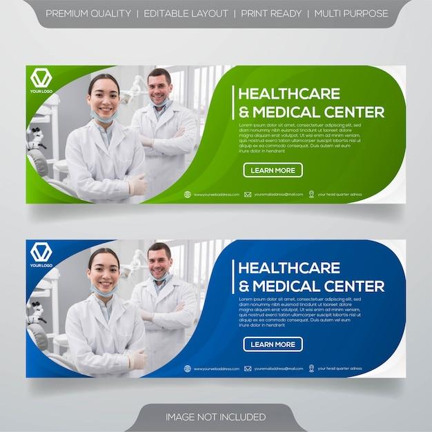 Szablon transparent opieki stomatologicznej Premium Wektorów