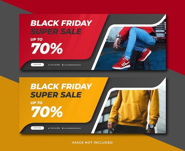 Szablon Transparent Sprzedaż Czarny Piątek Premium Wektorów