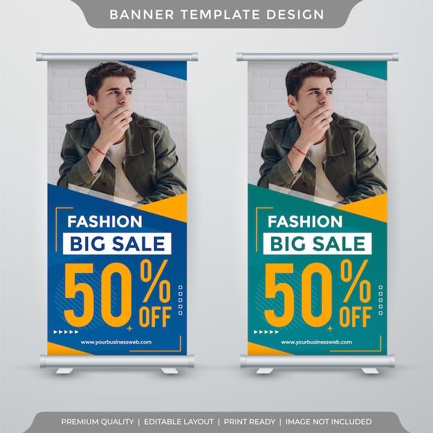 Szablon Transparent Sprzedaż Mody Premium Wektorów