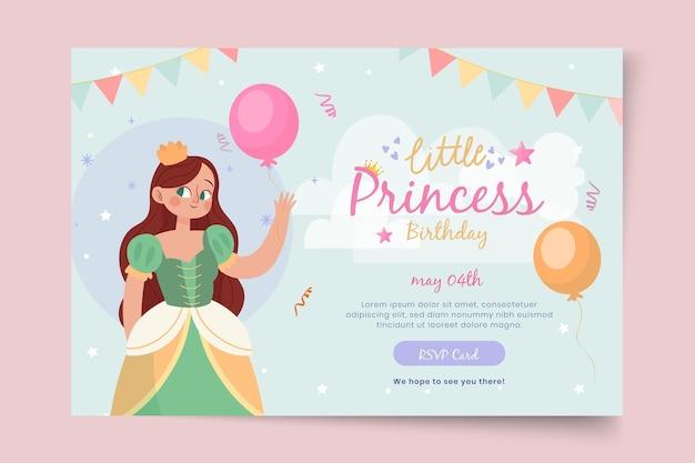 Szablon Transparent Urodziny Dla Dzieci Darmowych Wektorów