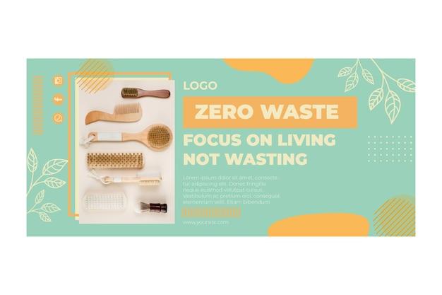 Szablon Transparent Zero Odpadów środowiska Darmowych Wektorów