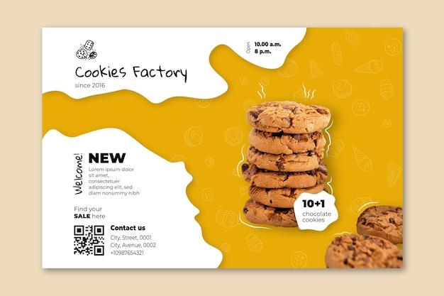 Szablon Transparentu Plików Cookie Darmowych Wektorów