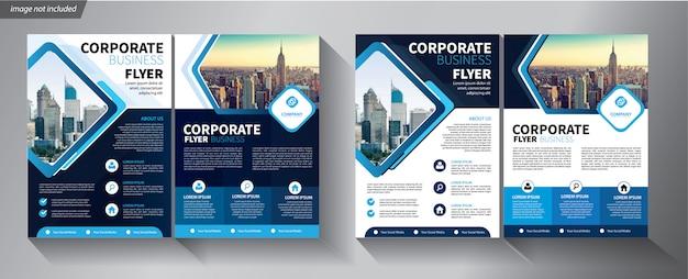 Szablon Ulotki Dla Firmy Premium Wektorów