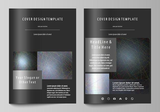 Szablony biznesowe dla broszury Premium Wektorów