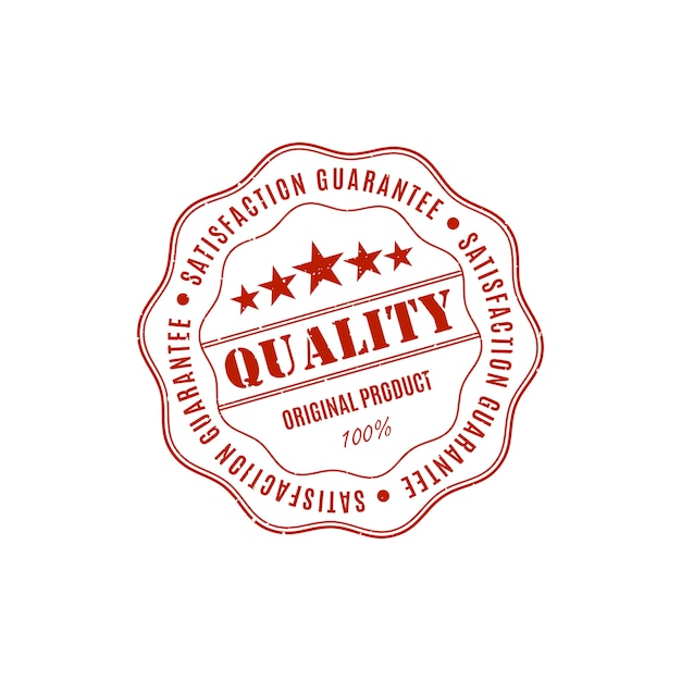 Szablony Gwarancji Jakości Produktu Premium Wektorów