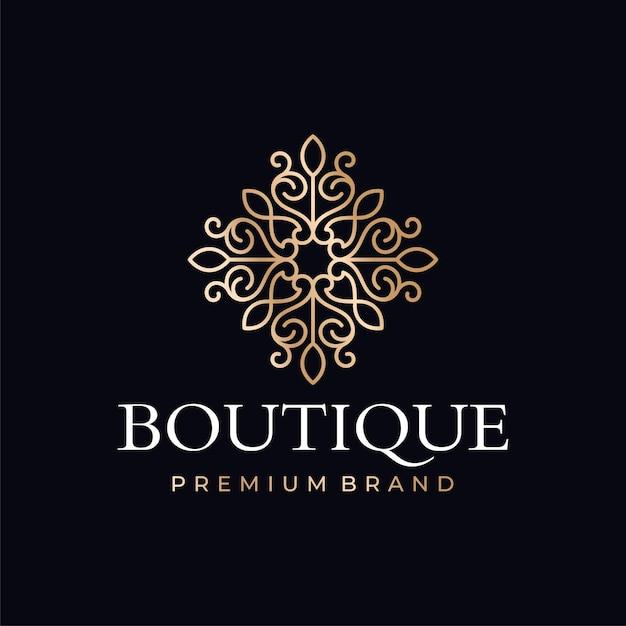 Szablony Logo Butiku Luksusowego Premium Wektorów
