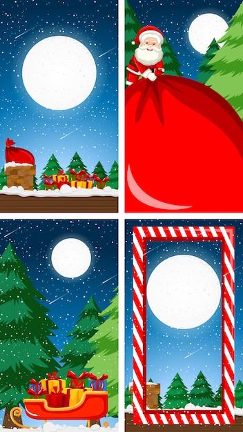 Szablony Tło Z Motywem świątecznym Darmowych Wektorów
