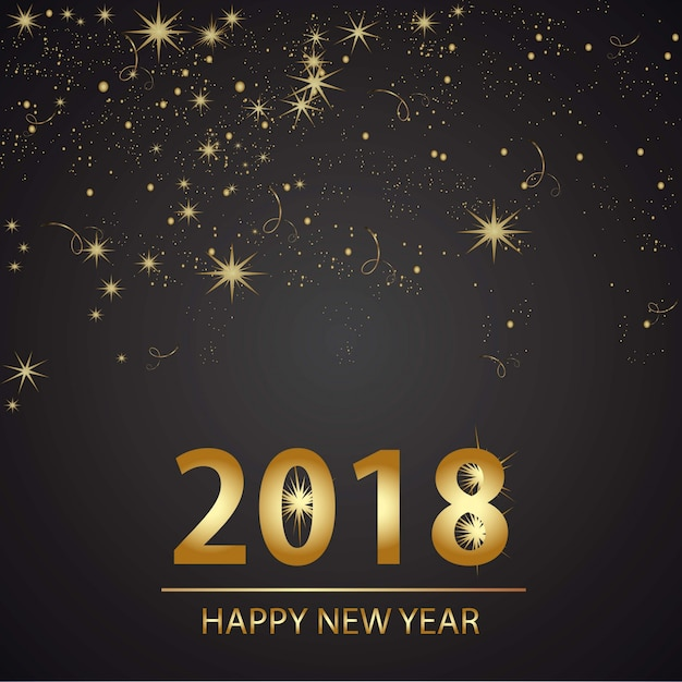szczęśliwego nowego roku tła desgin Darmowych Wektorów