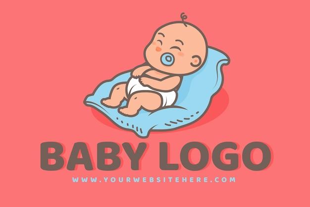 Szczegółowe Logo Dziecka Darmowych Wektorów