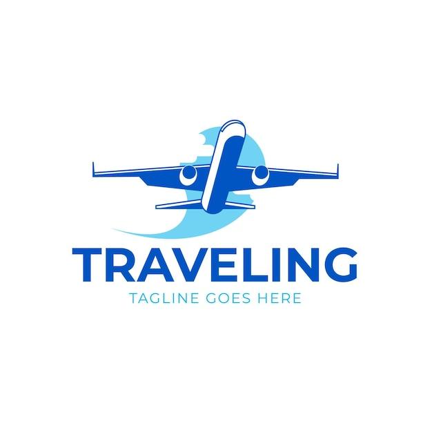 Szczegółowe Logo Podróży Darmowych Wektorów