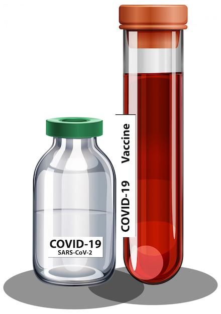 Szczepionka I Strzykawka Przeciwko Koronawirusowi Darmowych Wektorów