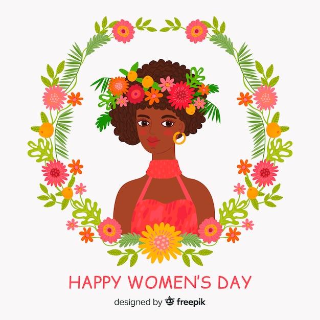 Szczęśliwego Dnia Kobiet Darmowych Wektorów