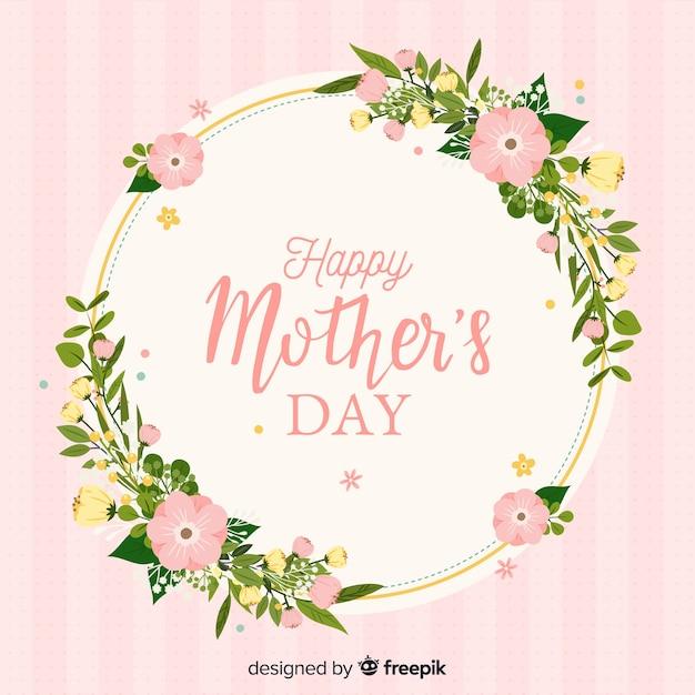 Szczęśliwego Dnia Matki Darmowych Wektorów