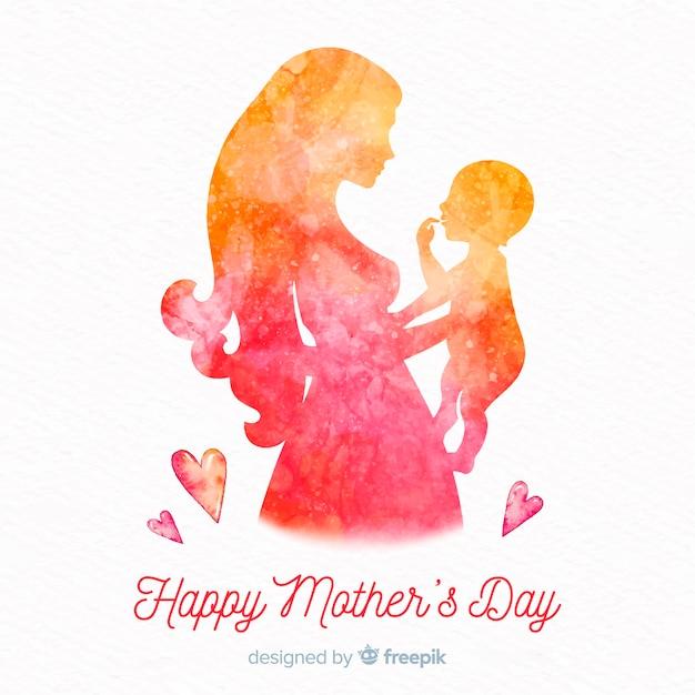 Szczęśliwego Dnia Matki Premium Wektorów