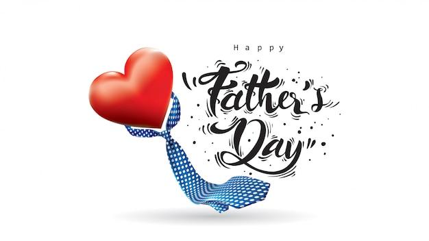 Szczęśliwego dnia ojca Premium Wektorów