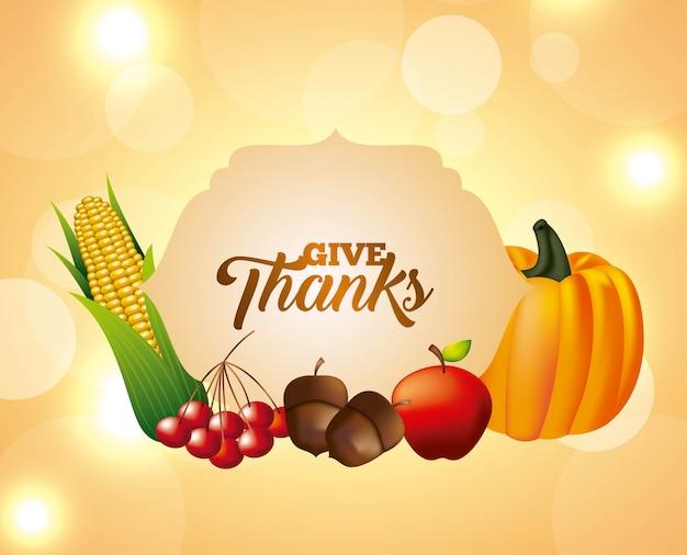 Szczęśliwego święta dziękczynienia Darmowych Wektorów