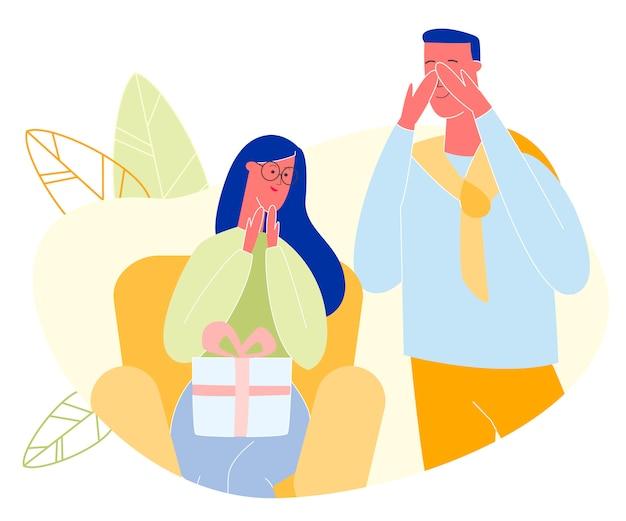 Szczęśliwy dzień ojca lub rodziców, obchody urodzin, Premium Wektorów