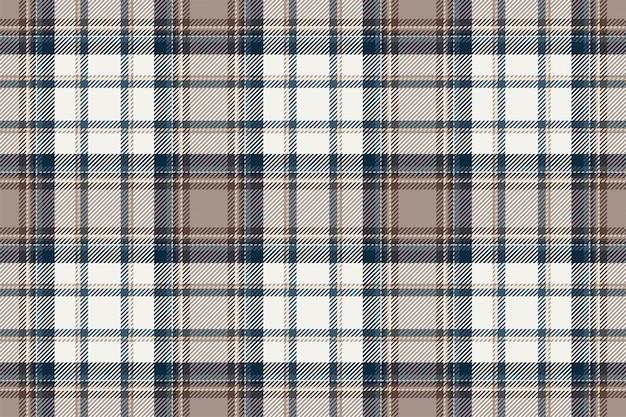 Szkocka Krata Szkocka Bez Szwu Wzór. Tkanina Retro. Vintage Kwadratowy Geometryczny. Premium Wektorów