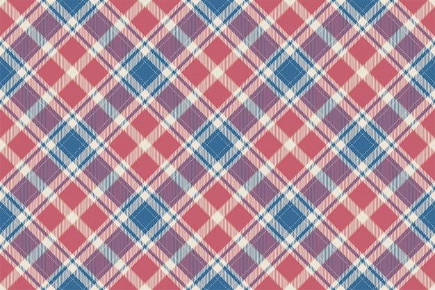 Szkocka Krata Szkocka Bez Szwu Wzór Premium Wektorów