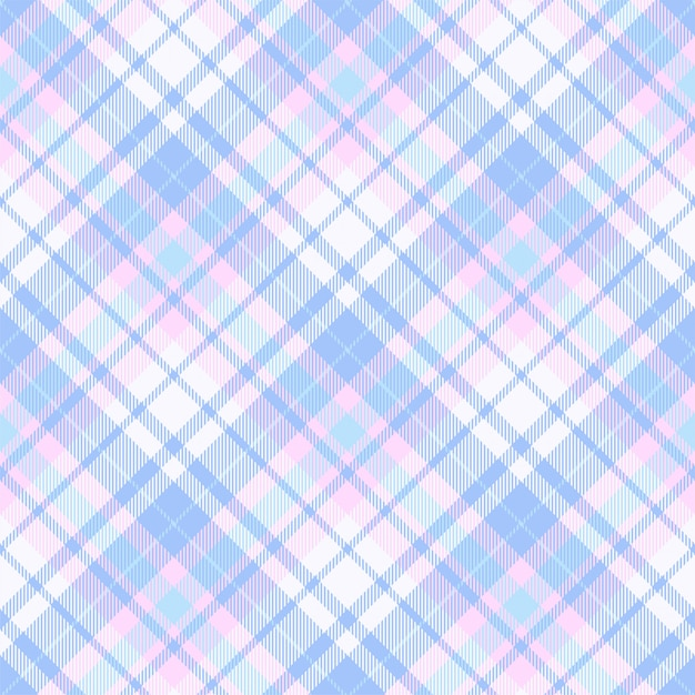 Szkocka krata szkocka krata wzór bezszwowe tło. materiał w stylu retro. vintage wyboru koloru kwadratowa geometryczna tekstura. Premium Wektorów