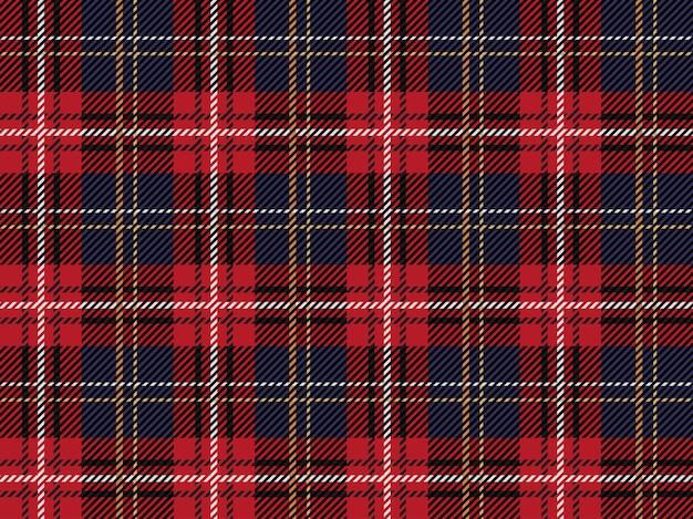Szkocka krata wzór tła Premium Wektorów