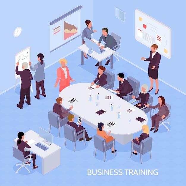 Szkolenie Biznesowe Skład Izometryczny Darmowych Wektorów
