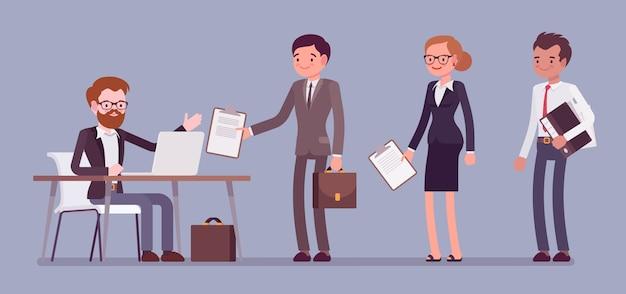 Sztandar Aktu Urzędowego Certyfikacji Premium Wektorów