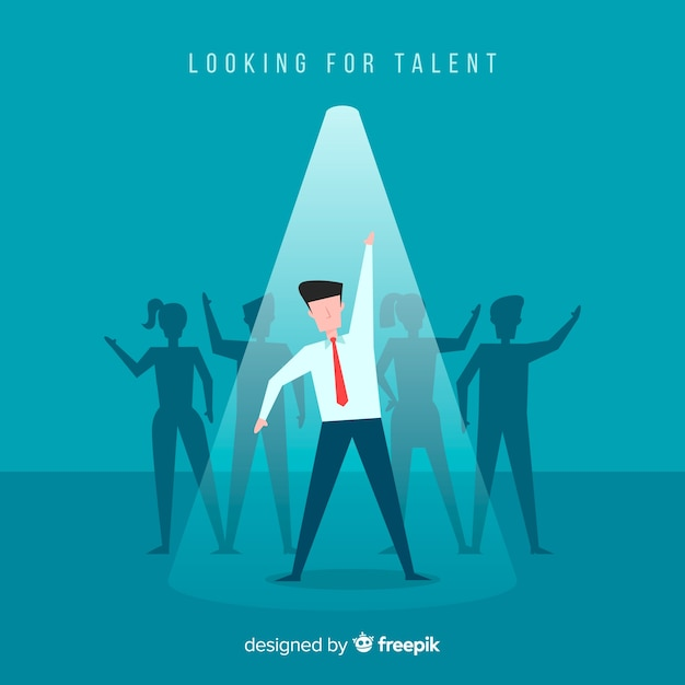 Szukasz talentu Darmowych Wektorów
