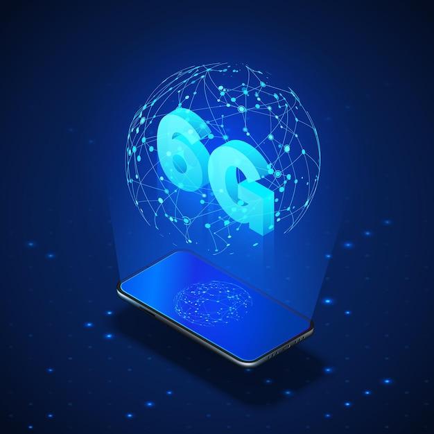 Szybkie Globalne Sieci Komórkowe. Premium Wektorów