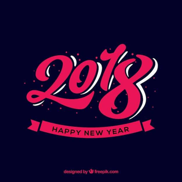 Tło w nowym roku Darmowych Wektorów
