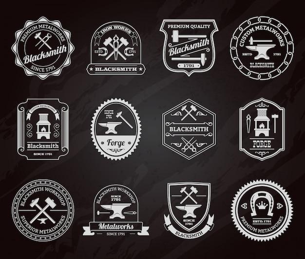 Tablica Odznaka Kowala Darmowych Wektorów